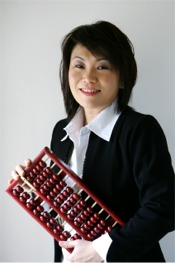 Carol Yip - the Abacus lady